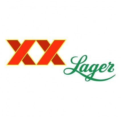 LOGO / Free vector Vector logo xx lager 0