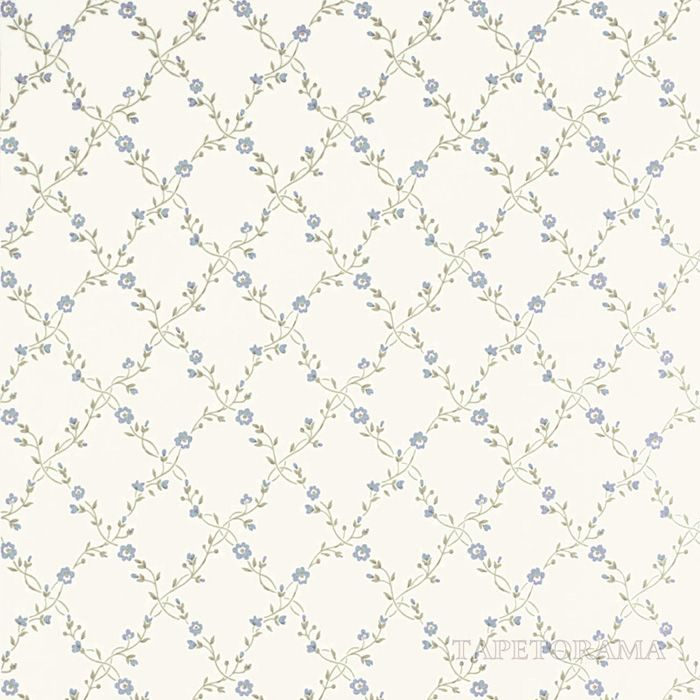 Forget Me Not Ivory/China Blue från Sanderson