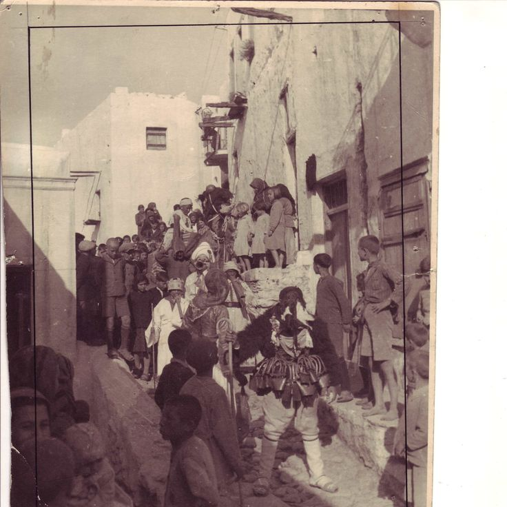 APOKRIES ( Carnival) in Skyros, 1913 by Peschke