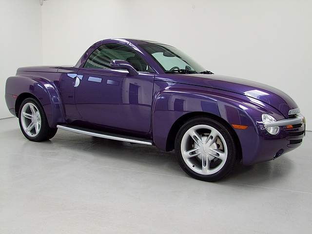 Purple Chevy Ssr Pickup Got Mine July 4th 2008 4006 Original Miles Totally Loaded All Options Luv My Makes Heart Smile