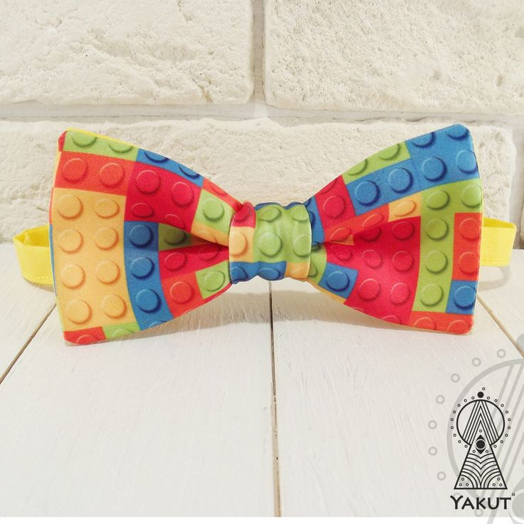 Bow Tie Lego, Bowtie lego, Creative bow tie, Bow tie for boys, Yellow bow ties, Yellow bowtie, Yellow wedding, Lego bowtie, Creative gift by BowTieYAKUT on Etsy https://www.etsy.com/listing/280152388/bow-tie-lego-bowtie-lego-creative-bow