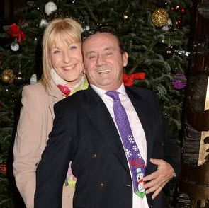 """Brendan O'Carroll and wife, Jennifer Gibney, better known as Agnes Brown and Cathy Brown from """"Mrs. Brown's Boys"""""""