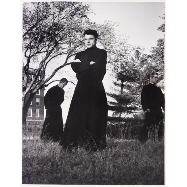 Margaret Bourke-White - Jesuit Seminarians, Florissant, Missouri 1953  >