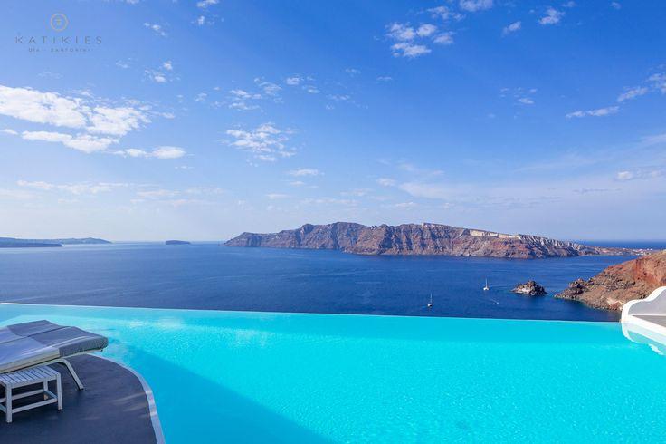 Katikies Hotel   Caldera view   Santorini Greece