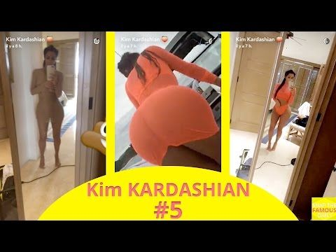 Kim Kardashian weight loss  snapchat  august 18 2016