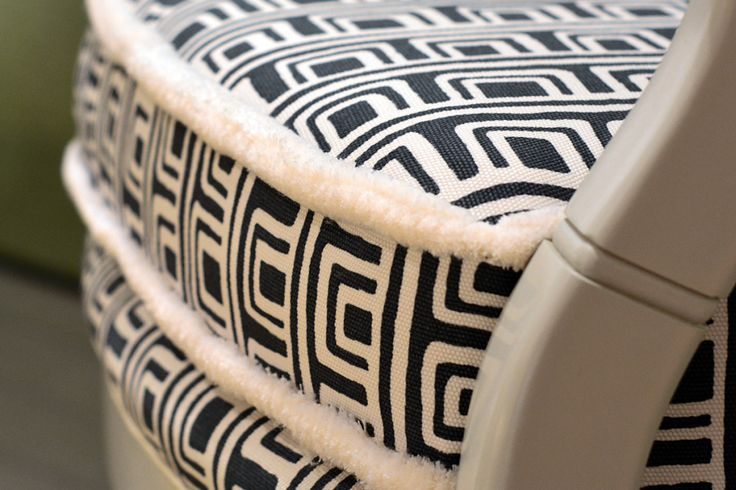 Let's do it up with a boxed cushion and double brush fringe on all the seat cushions. It's all in the details. You'll be happy you did it!