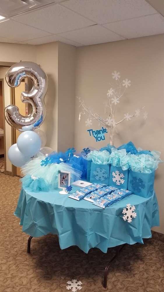 Mias 3rd birthday - Frozen affair | CatchMyParty.com