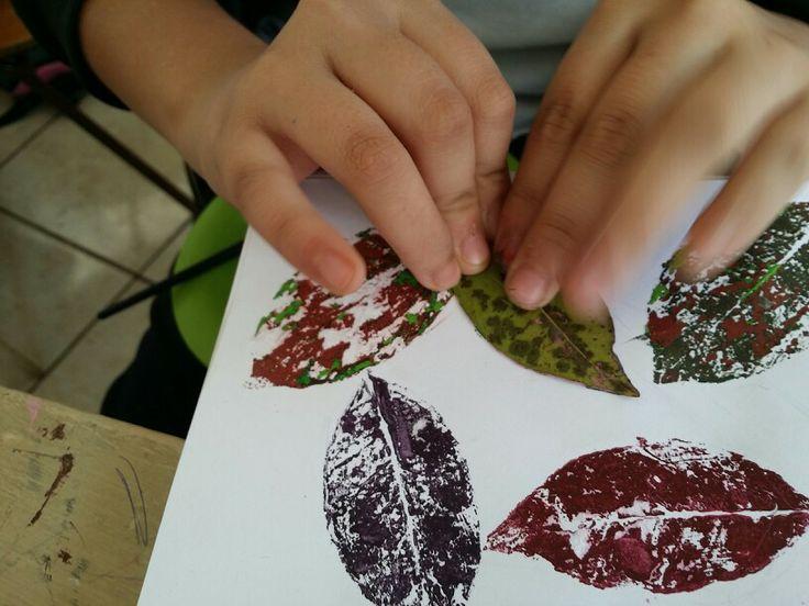 Imprimendo hojas