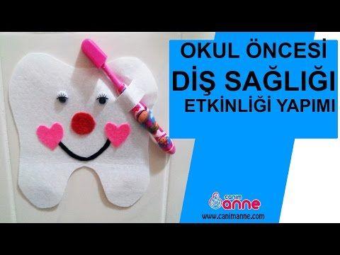 Okul Öncesi Diş Sağlığı Etkinliği Yapılışı - Canım Anne