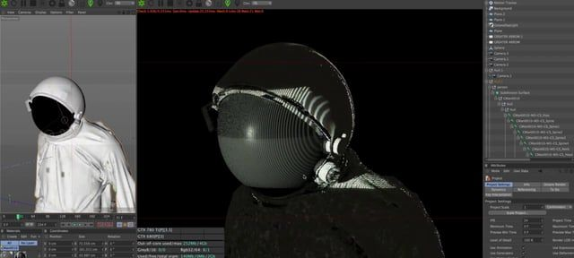 A behind the scenes look at  the Opening titles for the 2015 Semi-Permanent design conferences.  https://vimeo.com/129051743  This video has been rather hastily put together, and as by way of apology II'd like to share the  full high resolution model and textures of the Astronaut from these titles.   FILE NOW UP! http://www.mediafire.com/download/qfclufbbh3bhpqk/ASTRONAUT.zip Try turning off the displacement in the suit and other materials for a quicker update.  Theres and FBX and tw...