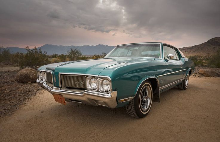 1970 Oldsmobile Cutlass Supreme, this car had power to burn, as they say.