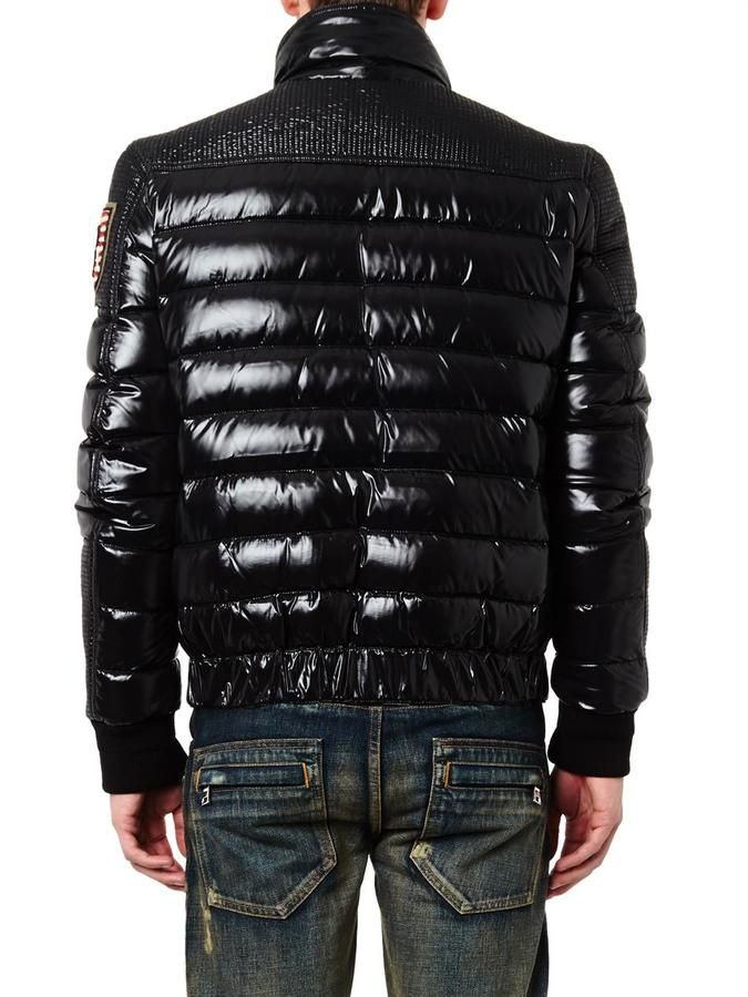 82cc4910c Balmain Quilted down biker jacket | Tony's save photo | Jackets ...