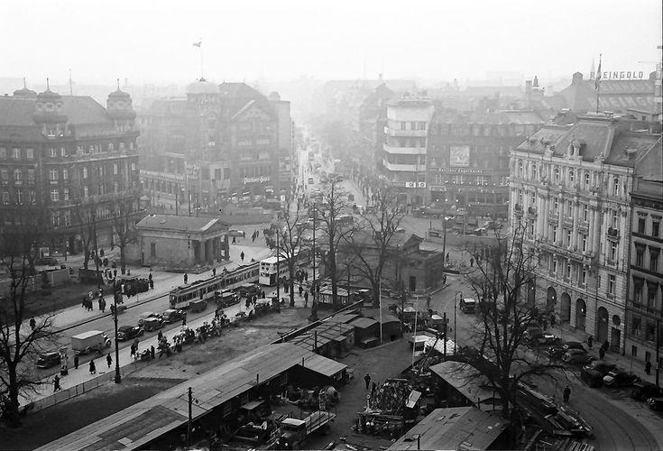 Potsdamer Platz vom Leipziger Platz, 1938 Bildquelle: Wikipedia/DDB, Urheber Willy Pragher, CC BY-SA 3.0 unportiert