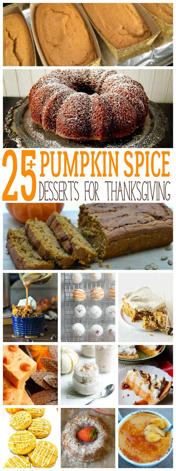 Get stocked up on Pumpkin Spice and Puree: these delicious dessert recipes will inspire you to bake and help you meal plan for Thanksgiving and fall. #pumpkinspice #desserts #Thanksgivingrecipes #Recipes #Baking #Pumpkinpie #dessertrecipes via @rainydaymum {The Usual Mayhem contributor post}