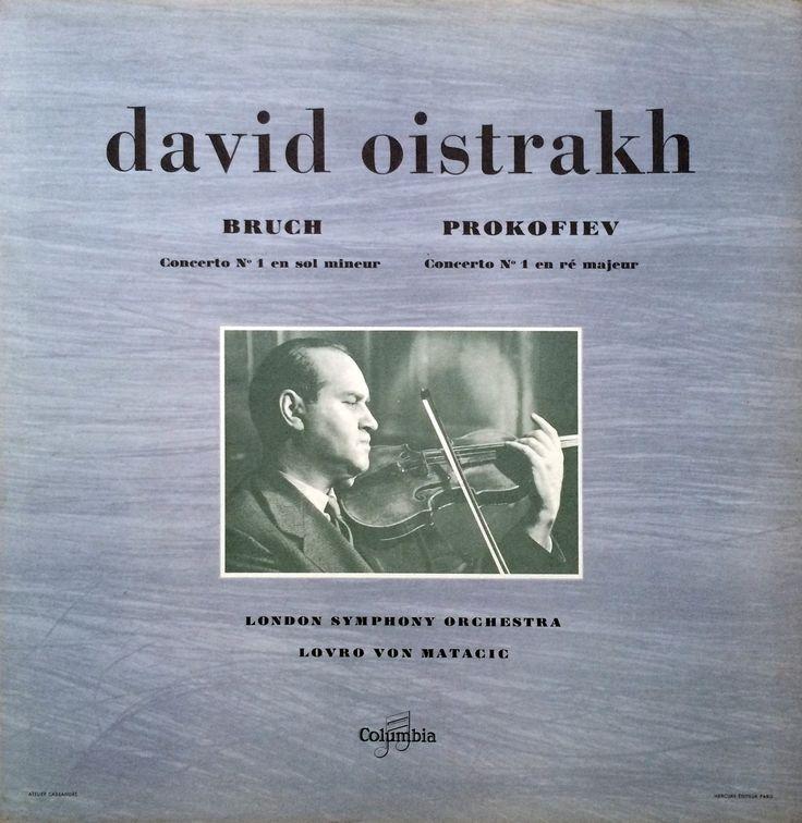 david oistrakh - BRUCH - PROKOFIEV