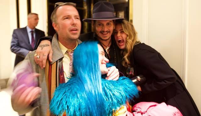 Pics For > Johnny Depp Doug Stanhope