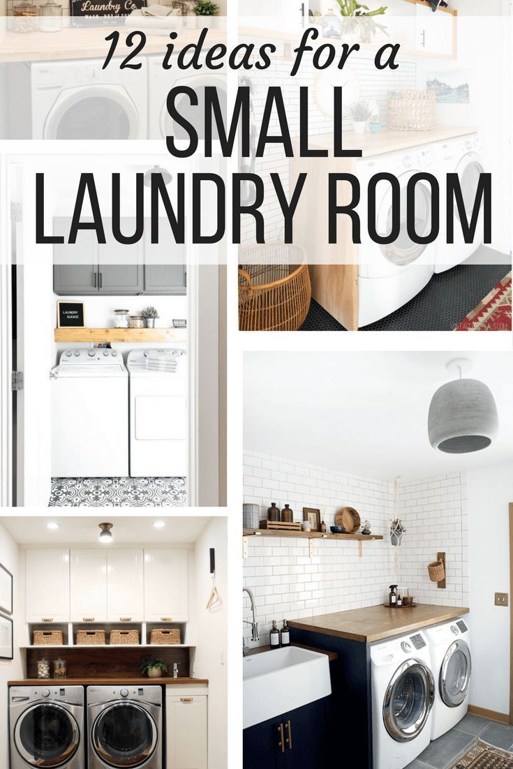 Ideas For A Small Laundry Room Organization Decor Diy Projects