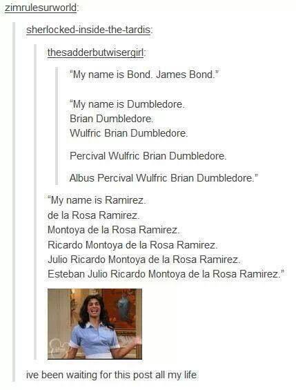 NOBODY calls Esteban Julio Ricardo Montoya de La Rosa a THIEF! Nobody has the time!