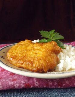 AranyTepsi: Tejszínes bundában sült csirkeszelet