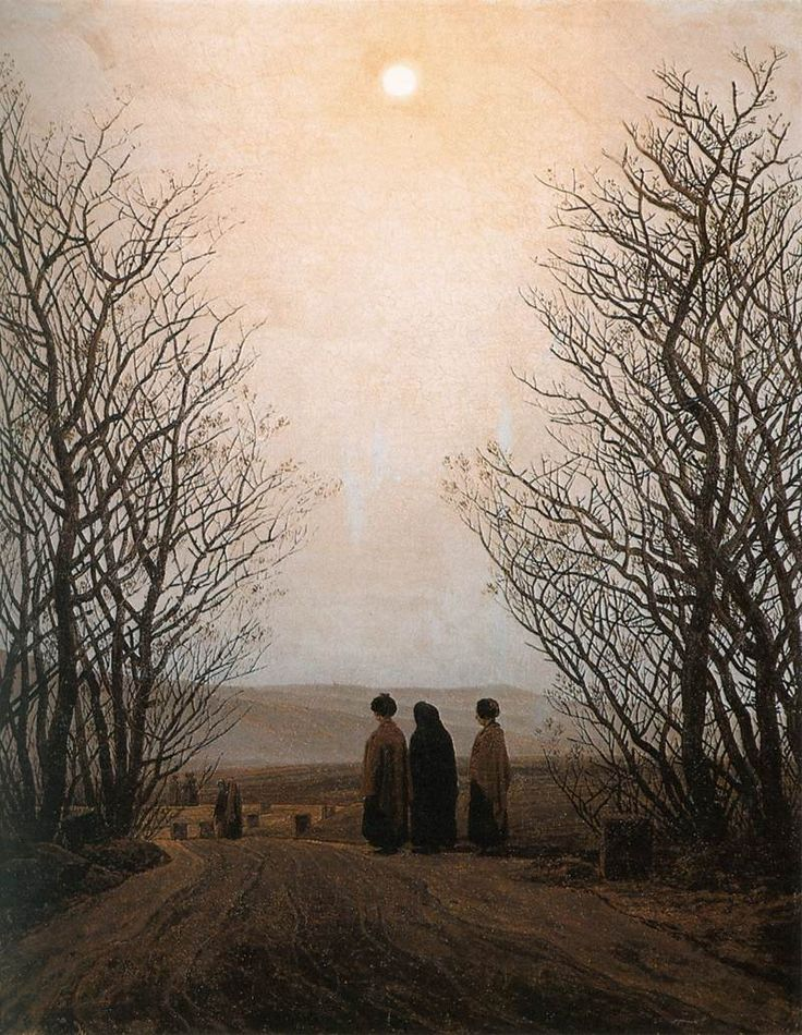 Caspar David Friedrich - Easter Morning