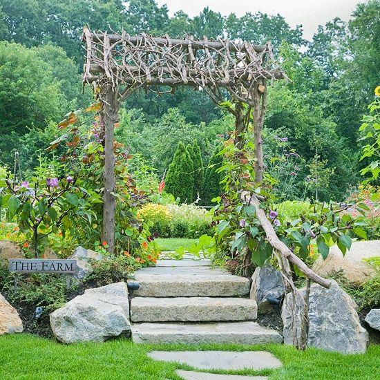 37 best Rankhilfen images on Pinterest Garden art, Decks and - holzdeko im garten