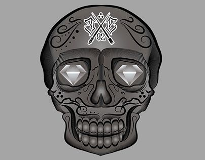 "Check out new work on my @Behance portfolio: ""skull tattoo"" http://be.net/gallery/45523579/skull-tattoo"