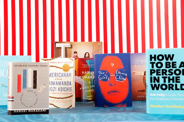 Summer beach reads 2016, brought to you courtesy of team Man Repeller.