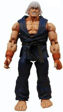 "Street Fighter IV Survival Model Ken Dark Action Figure Toy 7"" 18CM"