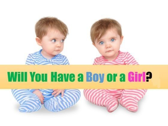 Wondering what the gender of your first child will be? We have the answer!