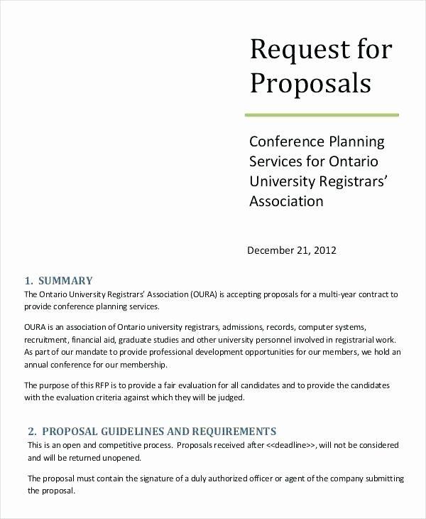 25 Digital Marketing Proposal Template in 2020   Request ...