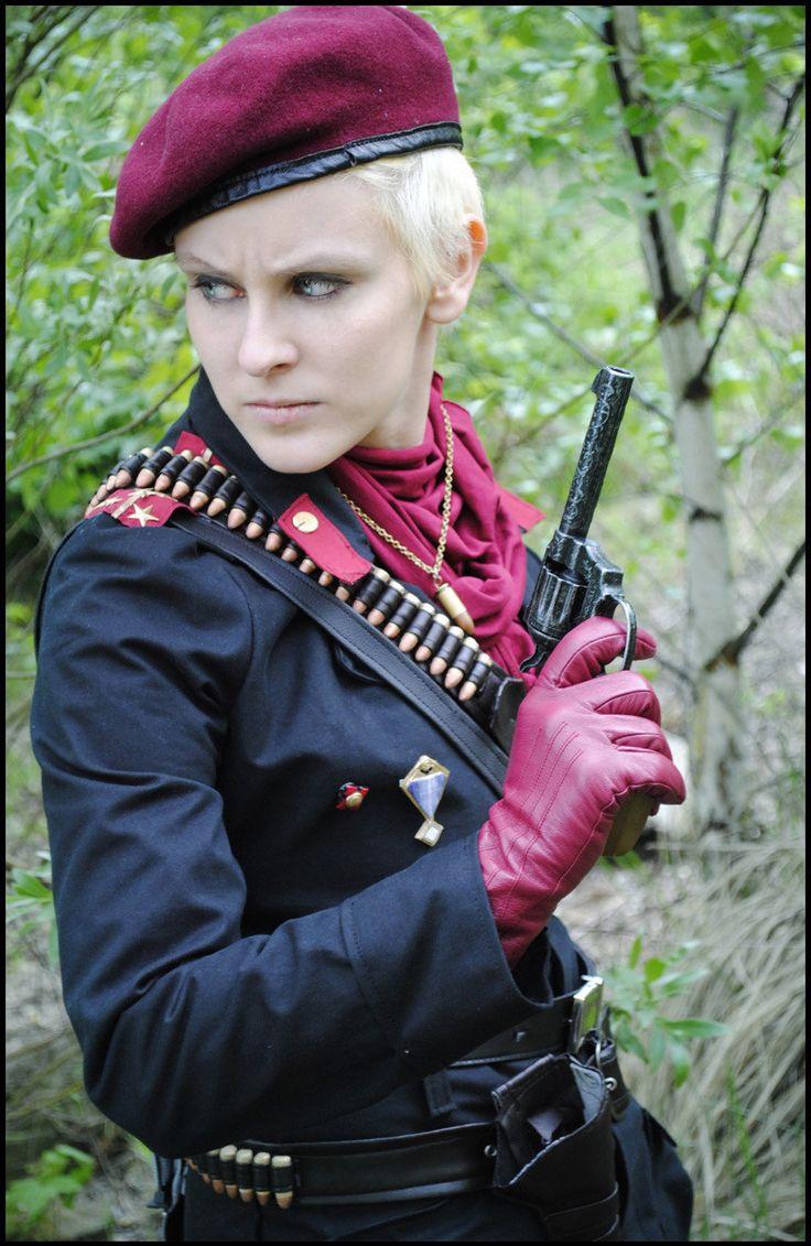 Revolver ocelot cosplay - photo#7