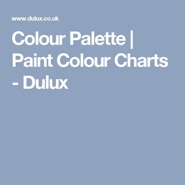 Colour Palette | Paint Colour Charts - Dulux
