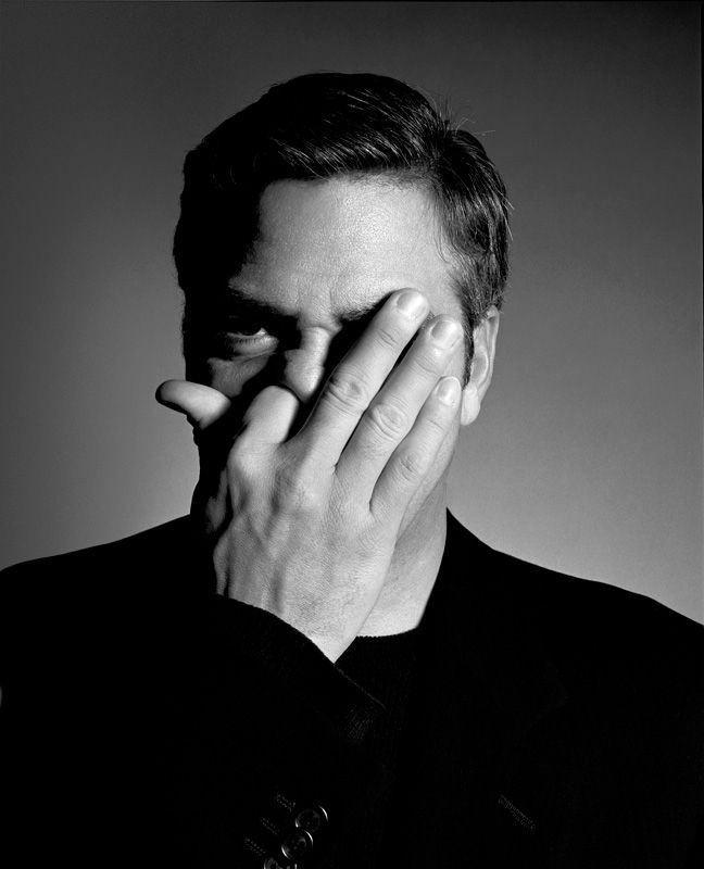 George Clooney by Rankin  -repinned by California portrait photographer http://LinneaLenkus.com