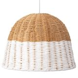 I could make something similar using a cheap basket dipped in paint & then sanded abit [the sanding is optional].