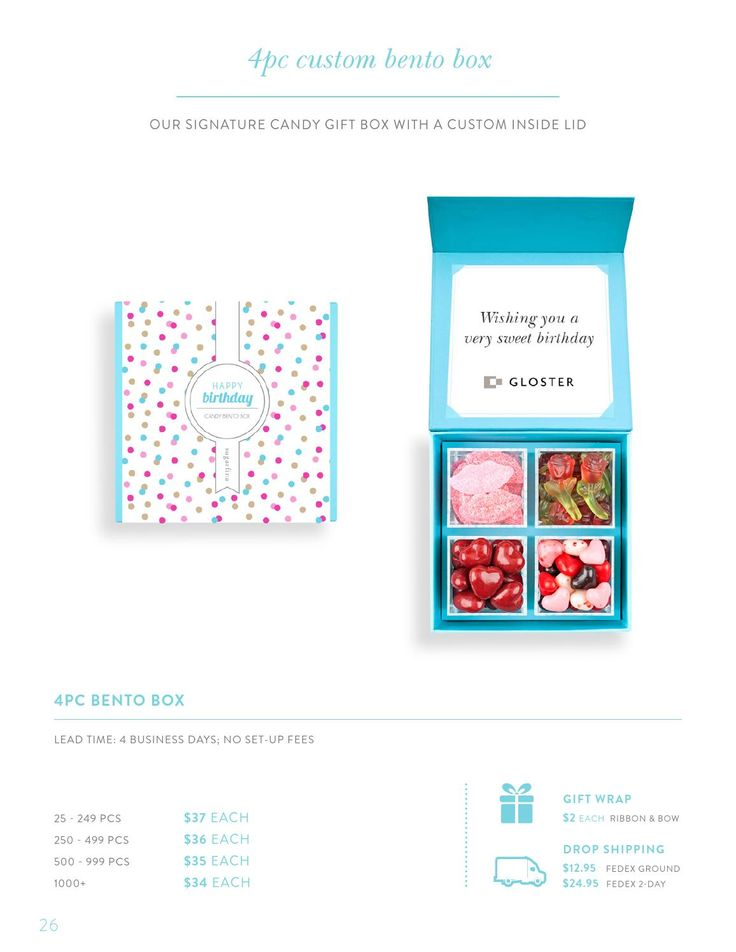 Custom & corporate gifts catalog by Sugarfina - issuu
