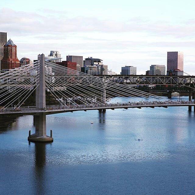 Bikers take over Tilikum Crossing for #Portland #BridgePedal
