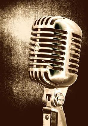 Vintage Microfoon.