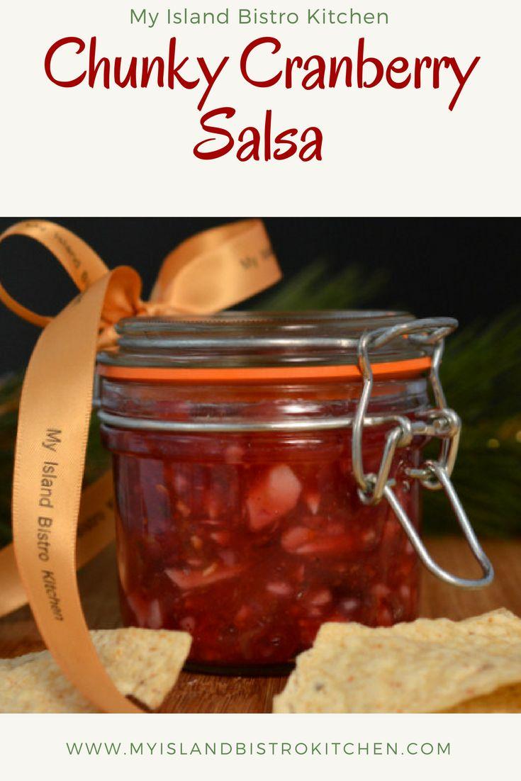 Chunky Cranberry Salsa
