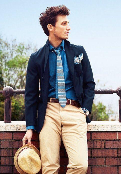 need a versatile blue blazer like this one