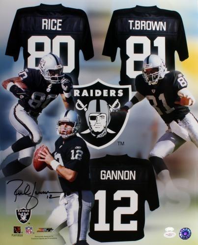 Rich Gannon Signed 16x20 Photo - JSA #SportsMemorabilia #OaklandRaiders