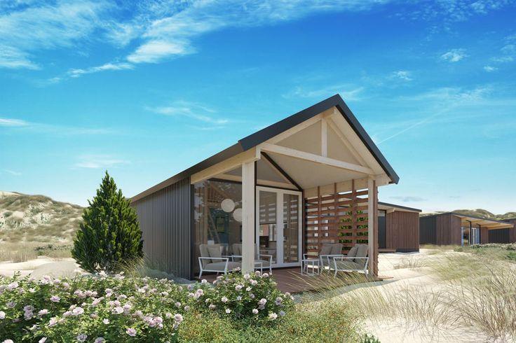 Op een vakantiepark in Bloemendaal zijn ruim honderd woningen gerealiseerd. Drie verschillende modellen van Lancet Living zijn hier te vinden.