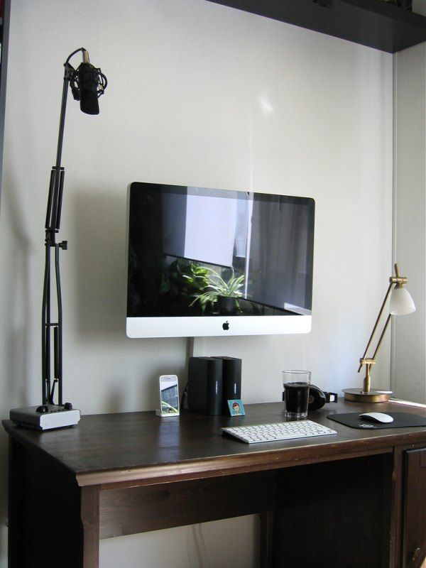 Schreibtisch design apple  54 best Apple Workspace Setups images on Pinterest | Home office ...