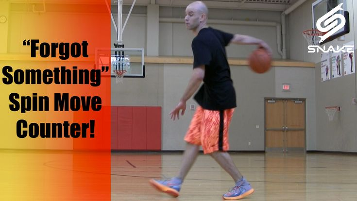Forgot Something Spin Counter - Basketball Combo Move - Ankle Breaking C...