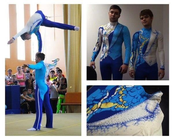 Фото костюмов спортивная акробатика