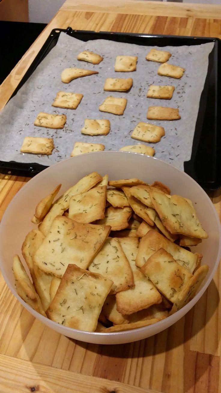 Quotidianamente Bimby: Crackers