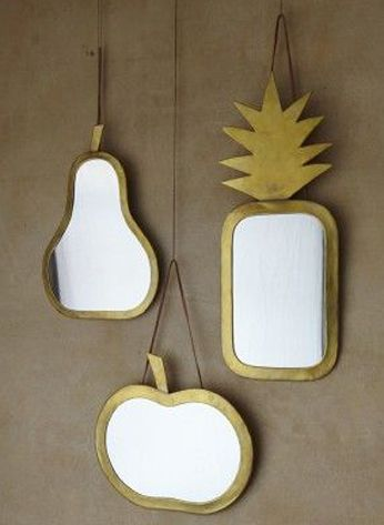Honoré Décoration - Luminaires & miroirs - Miroir Pomme Taille S