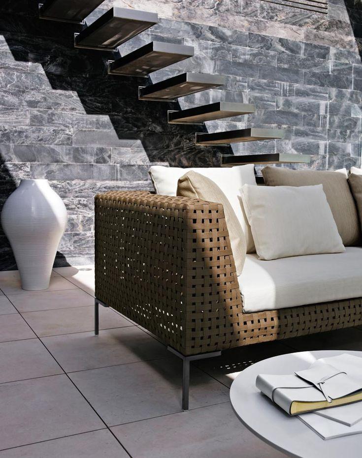 Sofa Charles Outdoor U2013 Bu0026B Italia X Antonio Citterio