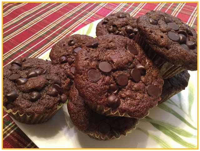 Life Without Alu?: Chocolaty Chocolate Chip Muffins in ...