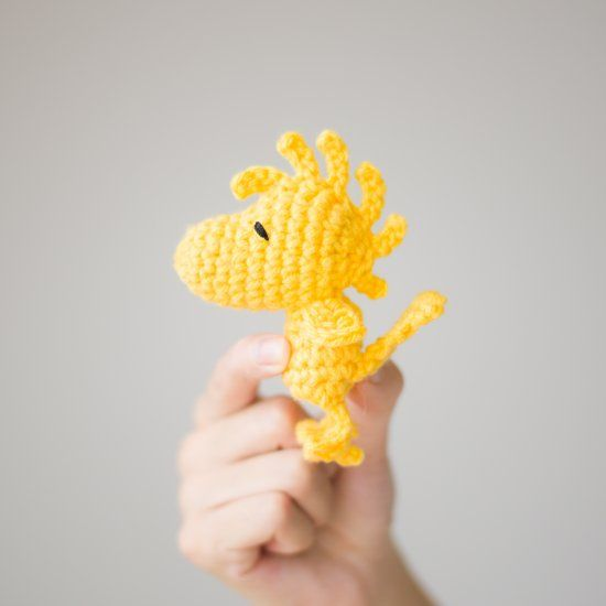 See the making of this amigurumi Woodstock (pattern from the Peanuts Crochet Kit)! This is just in time for the Peanuts movie coming out!