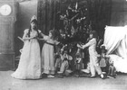 This photo is from the first performance of The Nutcracker in 1892. The ballet's themes of innocence and childhood especially resonate with American audiences.  The Nutcracker ballet spread beyond Russia's borders and was performed in the great capitals of Europe. The first full-length American performance didn't take place until 1944, in San Francisco. Since then, Americans have come to love The Nutcracker and treasure it as a holiday tradition, more so than any other country